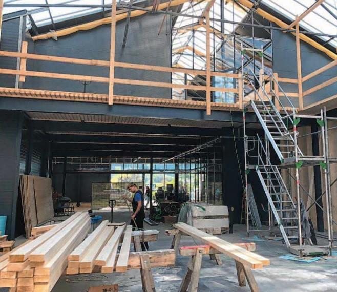 Um- und Neubau im Gartencenter Göppert in Haslach ...